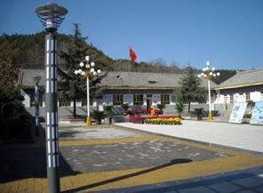陕西洛南古城中学学校相册 中国校长网图片